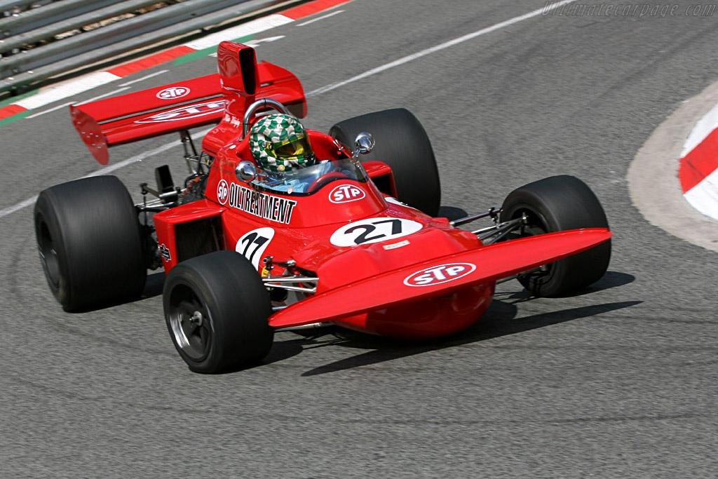 March 711 Cosworth - Chassis: 711-3 - Driver: Mike Wrigley  - 2006 Monaco Historic Grand Prix