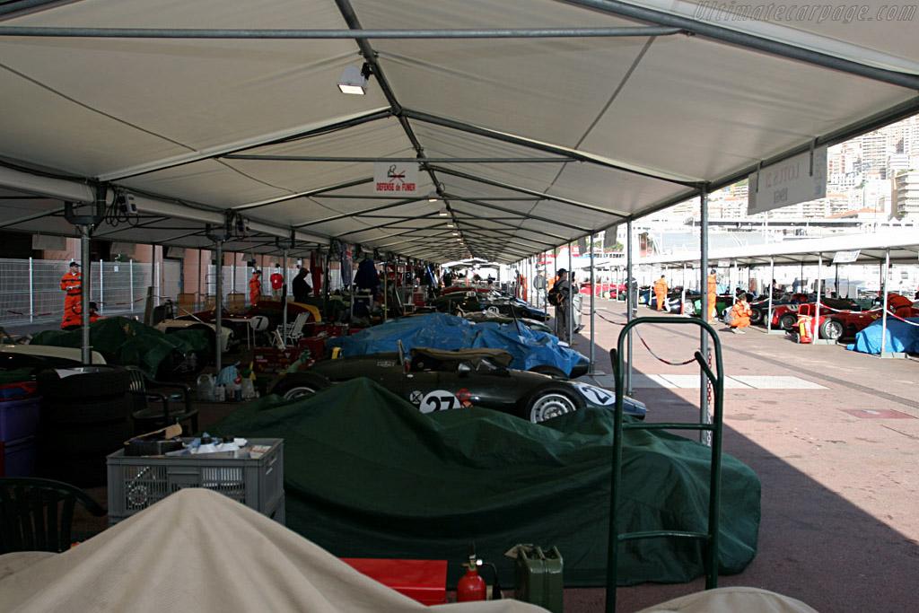 The paddock    - 2006 Monaco Historic Grand Prix