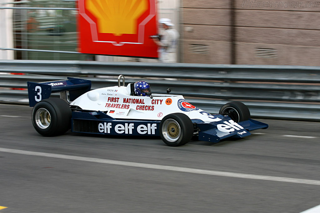 Tyrrell 008 - Chassis: 008/4   - 2006 Monaco Historic Grand Prix