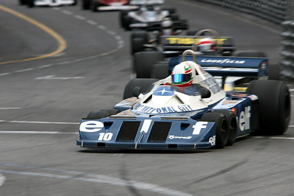 Tyrrell P34 - Chassis: P34/5 - Driver: Mauro Pane  - 2006 Monaco Historic Grand Prix