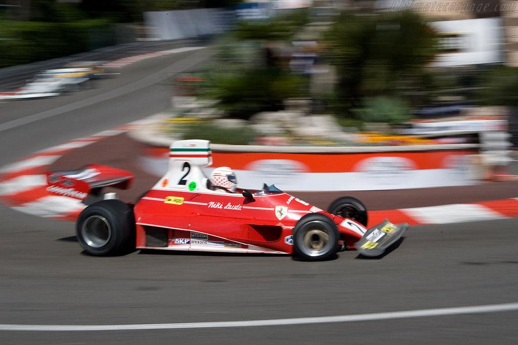Ferrari 312 T Chassis 018 2008 Monaco Historic Grand Prix