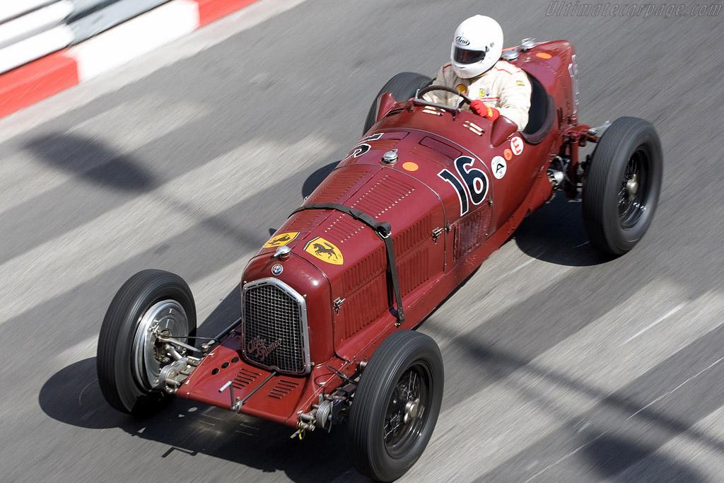 Alfa Romeo P3 - Chassis: 50003   - 2008 Monaco Historic Grand Prix