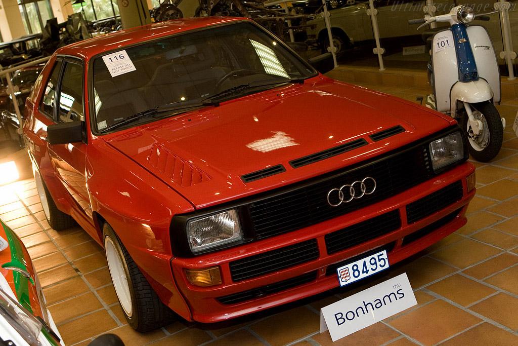 Audi Sport Quattro - Chassis: 85ZEA905075   - 2008 Monaco Historic Grand Prix