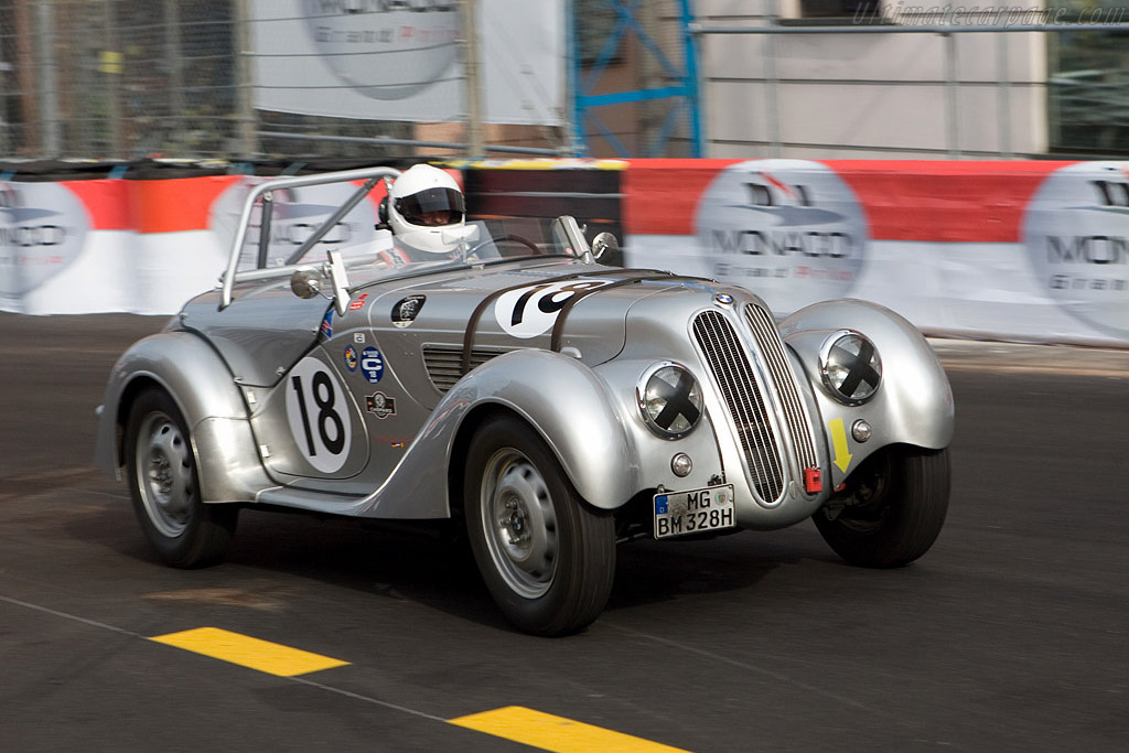 BMW 328 - Chassis: 85347   - 2008 Monaco Historic Grand Prix