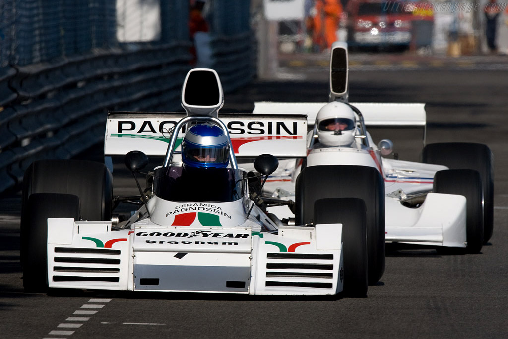 Brabham BT42 - Chassis: BT42-6 - Driver: Paul Knapfield  - 2008 Monaco Historic Grand Prix