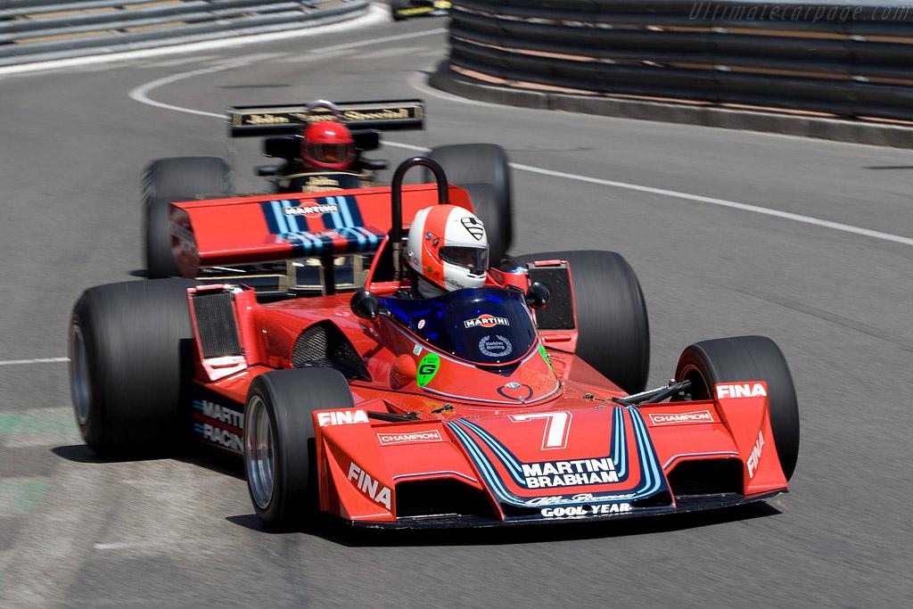 Brabham BT45B Alfa Romeo - Chassis: BT45-2 - Driver: Hubertus Bahlsen  - 2008 Monaco Historic Grand Prix