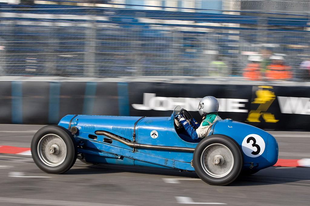 Delage 15 S8 - Chassis: WMG-101   - 2008 Monaco Historic Grand Prix