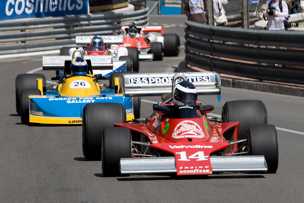 Ensign N177 - Chassis: MN09   - 2008 Monaco Historic Grand Prix