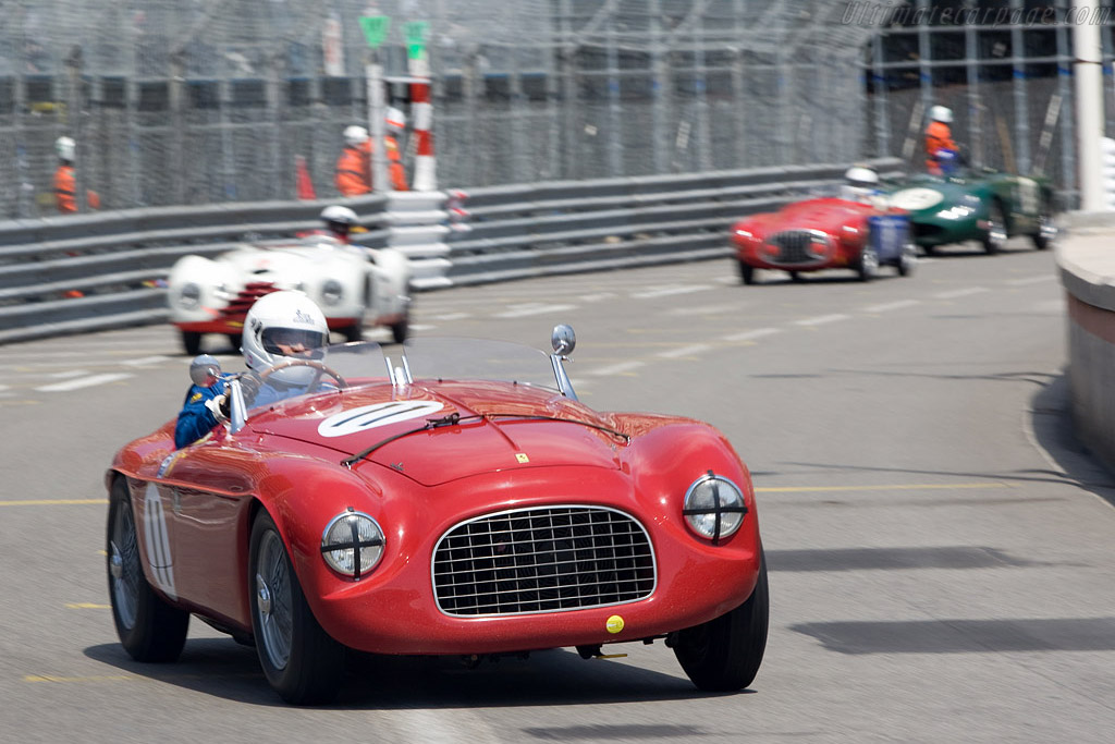 Ferrari 166 MM - Chassis: 0034M   - 2008 Monaco Historic Grand Prix