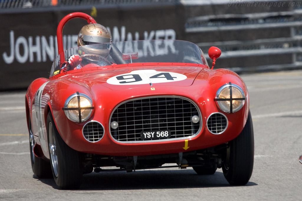 Ferrari 225 S - Chassis: 0154ED   - 2008 Monaco Historic Grand Prix