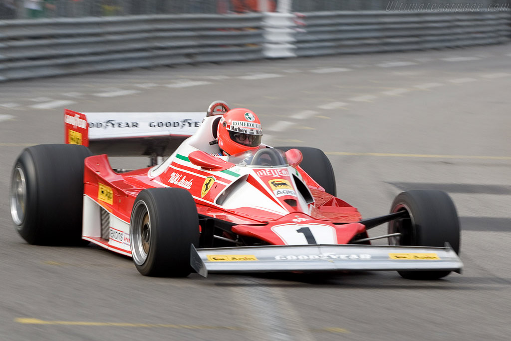 Ferrari 312 T2 - Chassis: 025   - 2008 Monaco Historic Grand Prix