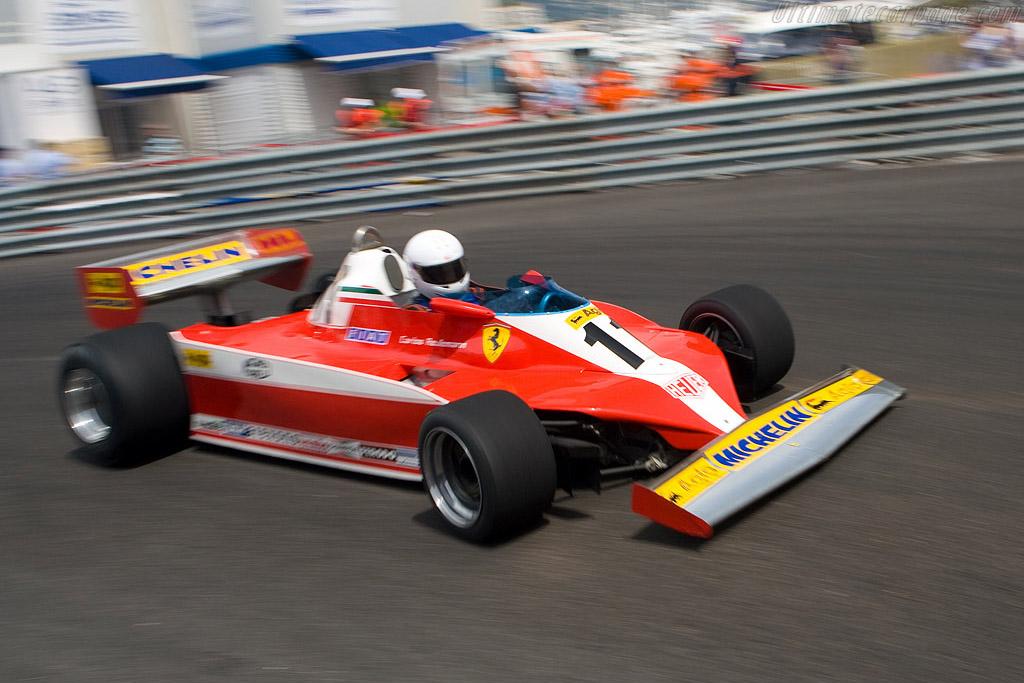 Ferrari 312 T3 - Chassis: 032 - Driver: Joaquin Folch  - 2008 Monaco Historic Grand Prix
