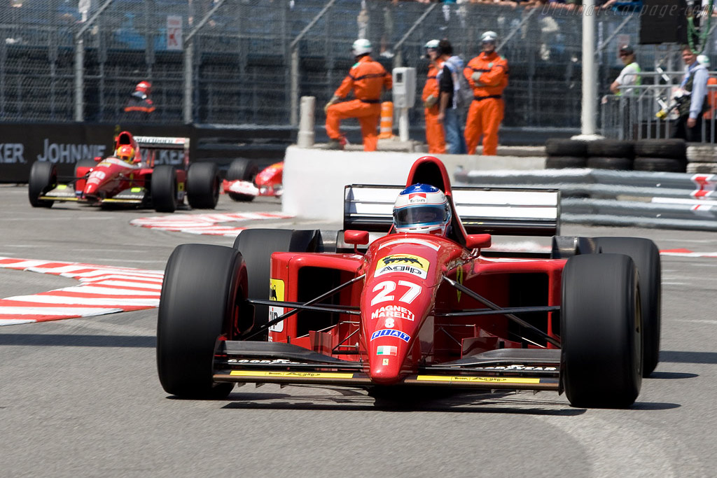 Ferrari 412 T2    - 2008 Monaco Historic Grand Prix