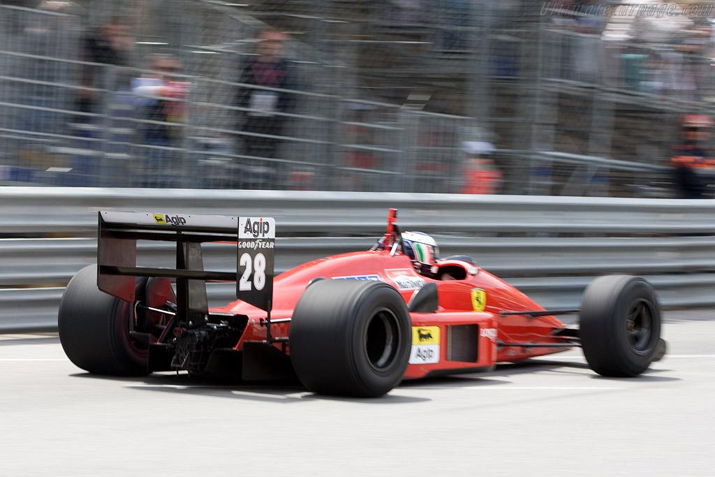 Ferrari F1-87    - 2008 Monaco Historic Grand Prix