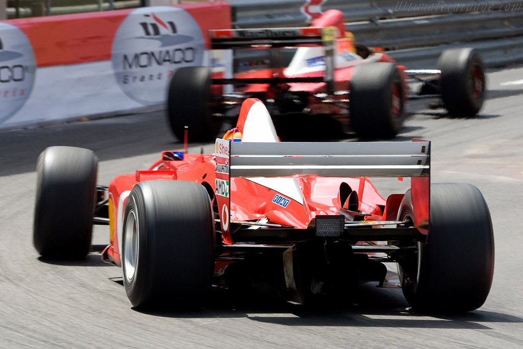 Ferrari F2004    - 2008 Monaco Historic Grand Prix