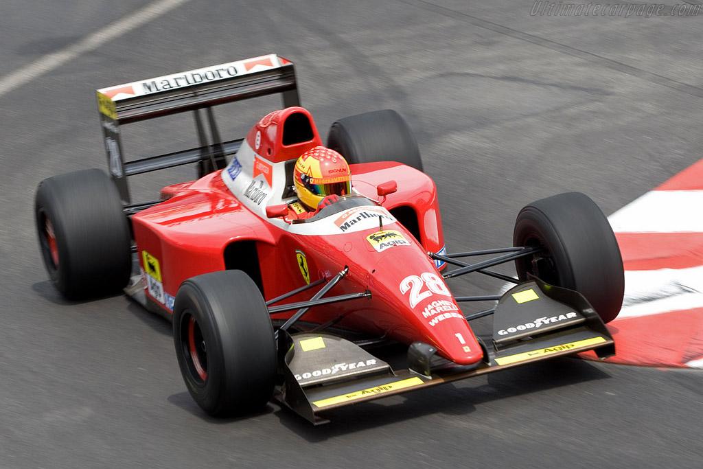 Ferrari F93 A    - 2008 Monaco Historic Grand Prix