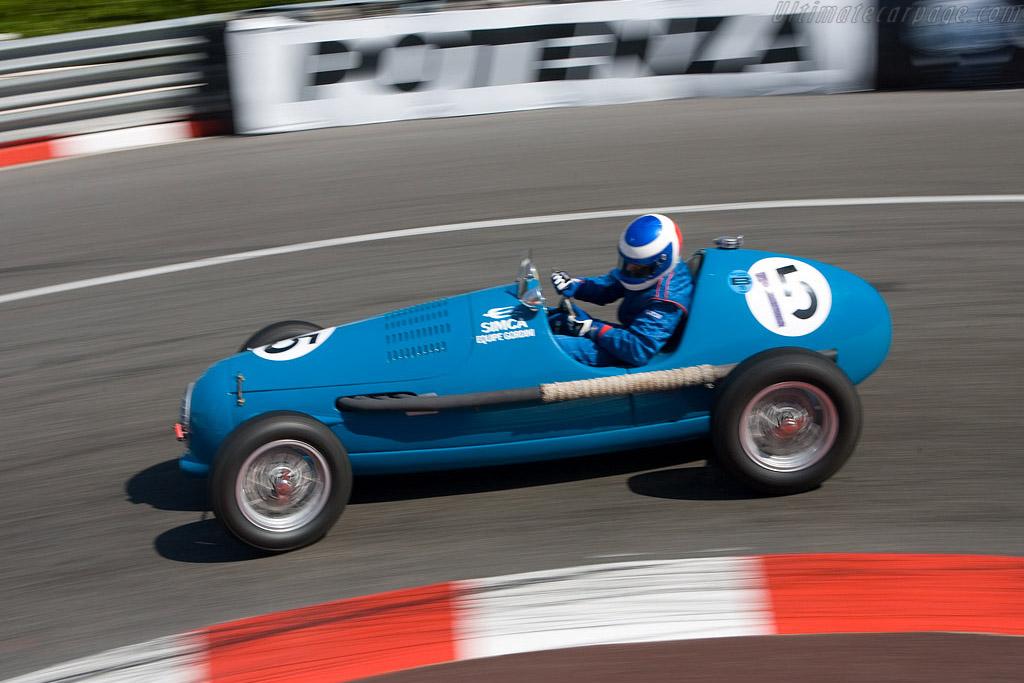 Gordini T15    - 2008 Monaco Historic Grand Prix