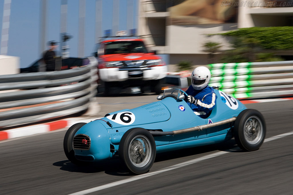 Gordini T15    - 2008 Monaco Historic Grand Prix