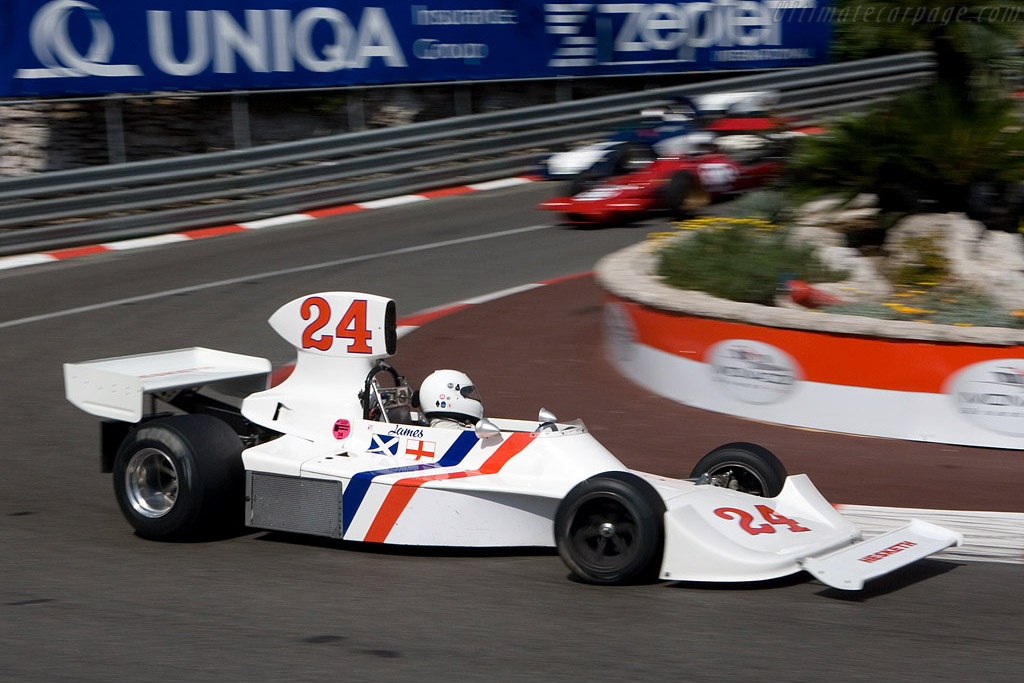Hesketh 308    - 2008 Monaco Historic Grand Prix