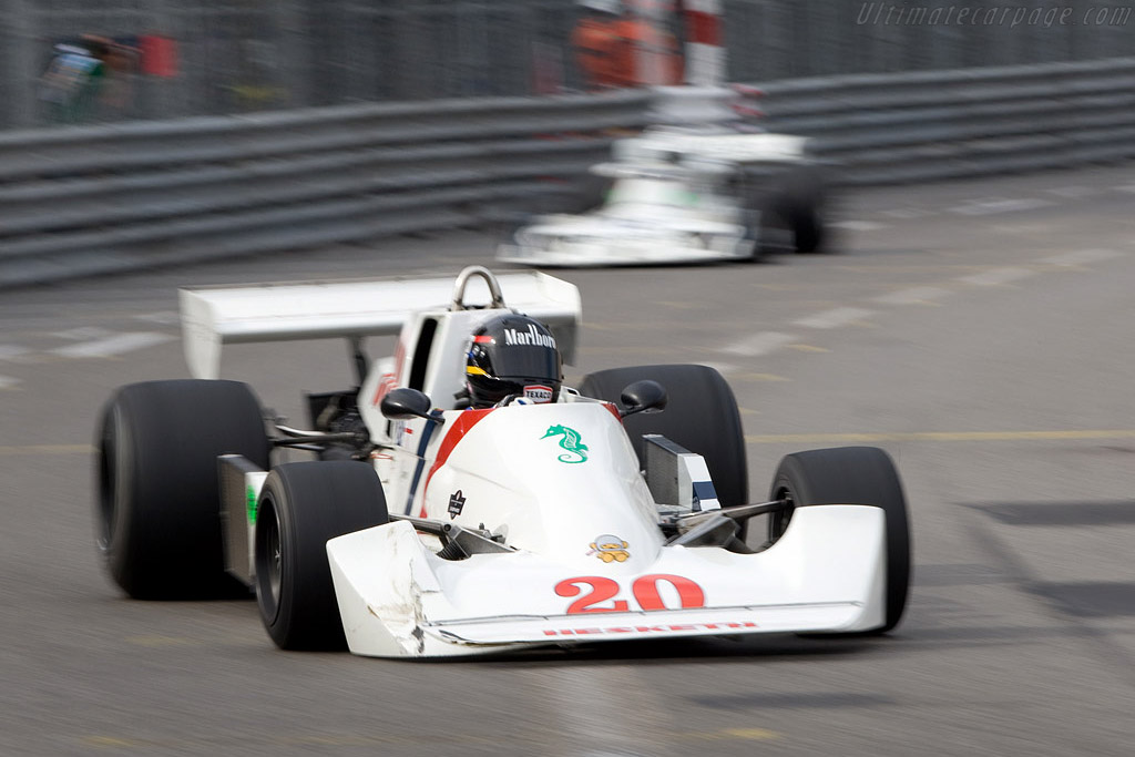 Hesketh 308C    - 2008 Monaco Historic Grand Prix