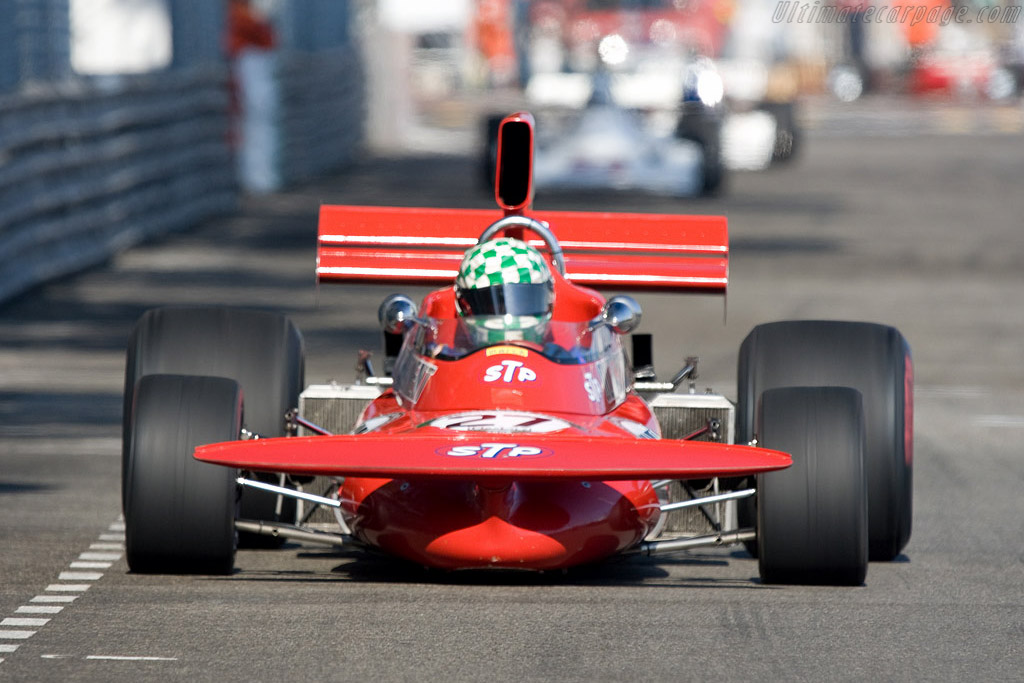 March 711 - Chassis: 711-3 - Driver: Mike Wrigley  - 2008 Monaco Historic Grand Prix