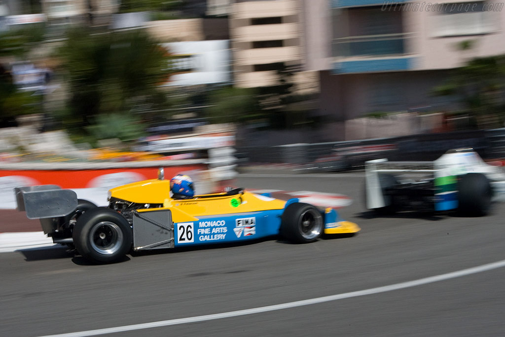 March 761 - Chassis: 761-05   - 2008 Monaco Historic Grand Prix