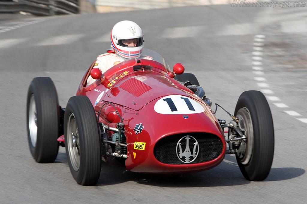 Maserati 250F Interim    - 2008 Monaco Historic Grand Prix