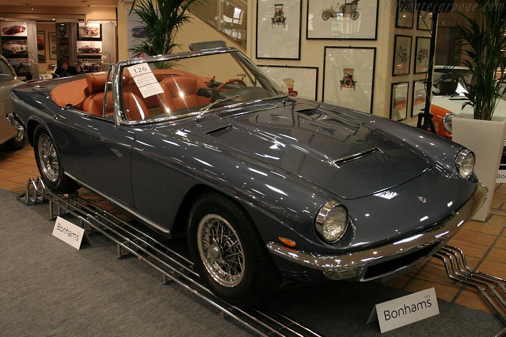 Maserati Mistral Spyder - Chassis: AM109/SA1 641   - 2008 Monaco Historic Grand Prix