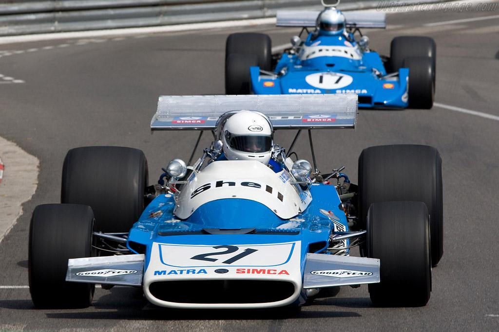 Matra MS120B - Chassis: MS120B-05   - 2008 Monaco Historic Grand Prix
