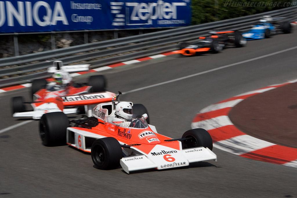 McLaren M23 - Chassis: M23-6   - 2008 Monaco Historic Grand Prix