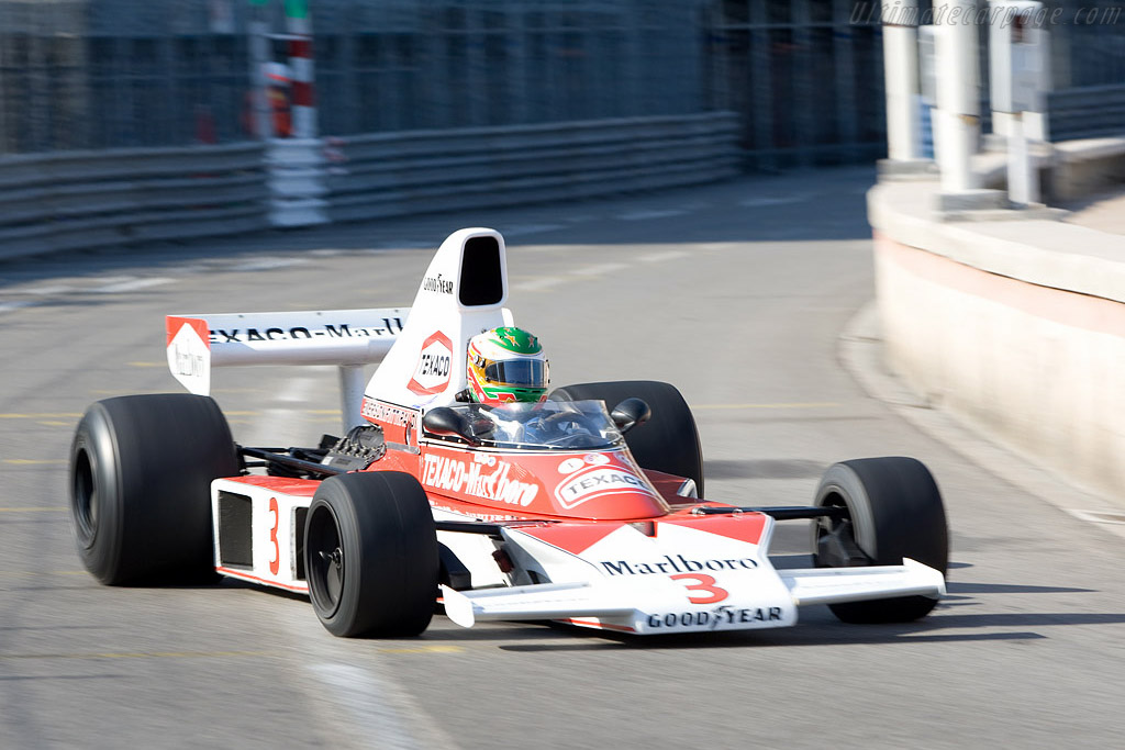 McLaren M23 - Chassis: M23-8   - 2008 Monaco Historic Grand Prix
