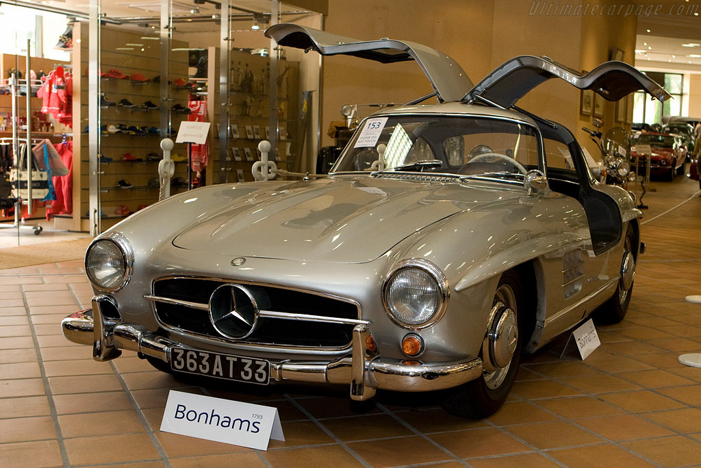 Mercedes-Benz 300 SL 'Gullwing' - Chassis: 198.040.6500274   - 2008 Monaco Historic Grand Prix