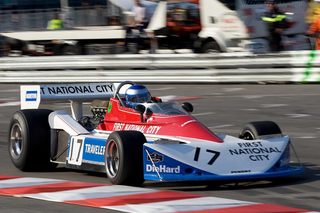 Penske PC3 - Chassis: PC3/002   - 2008 Monaco Historic Grand Prix