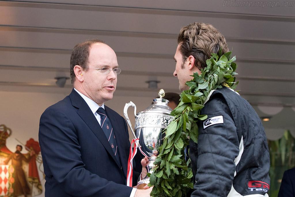 Prince Albert and Paul Edwards    - 2008 Monaco Historic Grand Prix