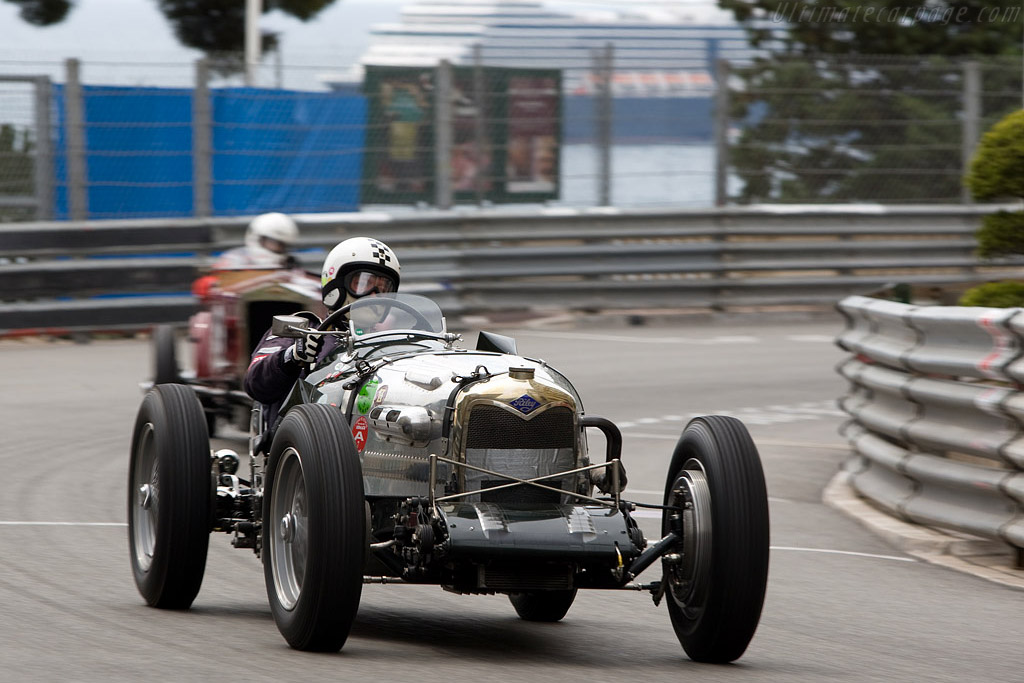Riley Brooklands    - 2008 Monaco Historic Grand Prix