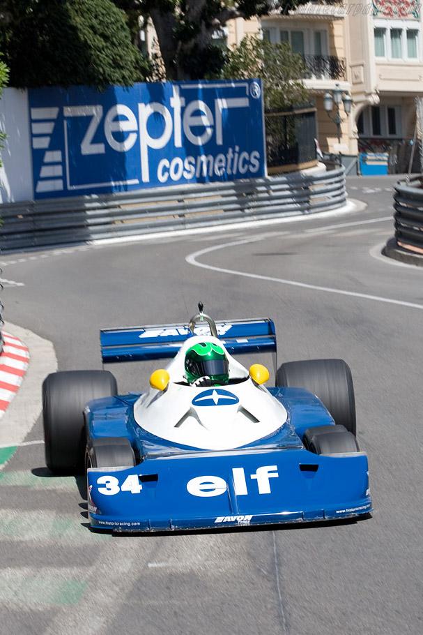 Tyrrell P34 - Chassis: P34/6 - Driver: Martin Stretton  - 2008 Monaco Historic Grand Prix