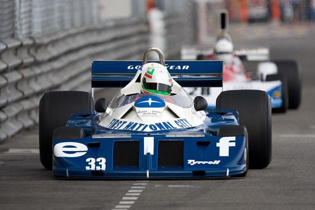 Tyrrell P34 - Chassis: P34/5 - Driver: Mauro Pane  - 2008 Monaco Historic Grand Prix