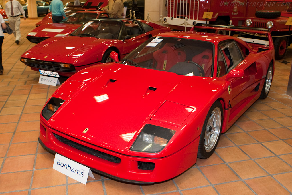 ferrari f40 2010 monaco historic grand prix. Black Bedroom Furniture Sets. Home Design Ideas