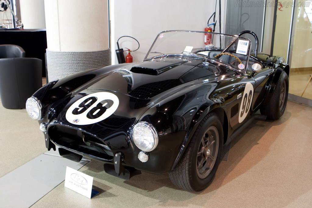 ac shelby cobra 289 chassis csx2136 2010 monaco historic grand prix. Black Bedroom Furniture Sets. Home Design Ideas