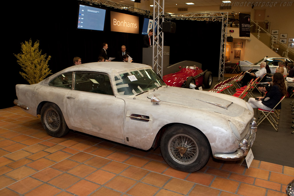 Aston Martin DB5 'Barn Find'    - 2010 Monaco Historic Grand Prix
