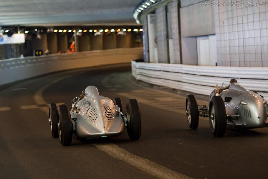 Auto Unions    - 2010 Monaco Historic Grand Prix