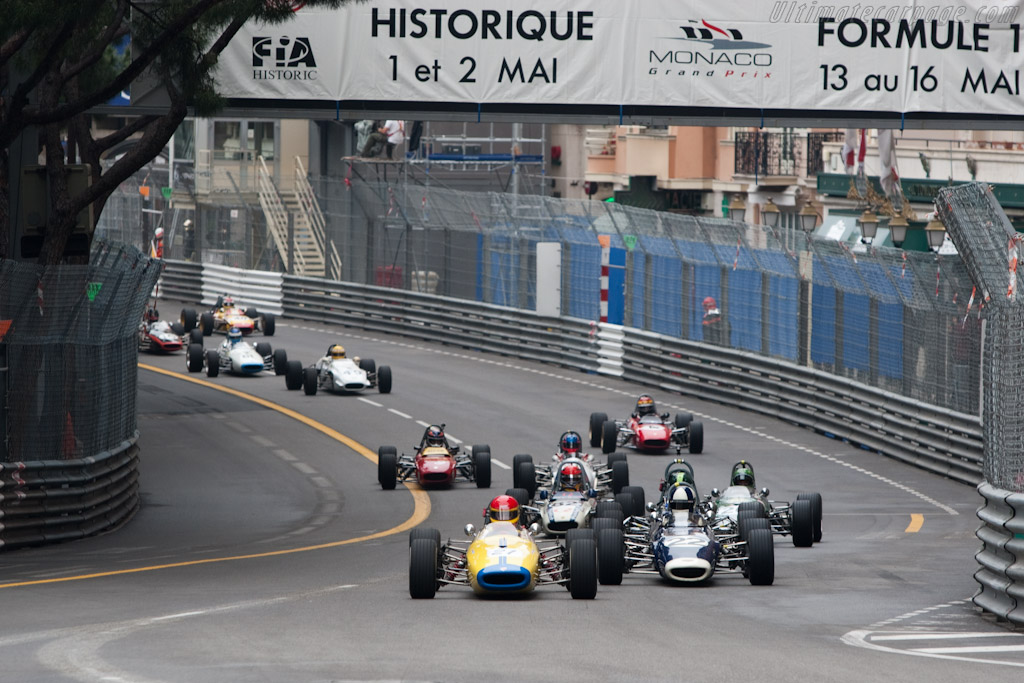 Brabham BT21    - 2010 Monaco Historic Grand Prix