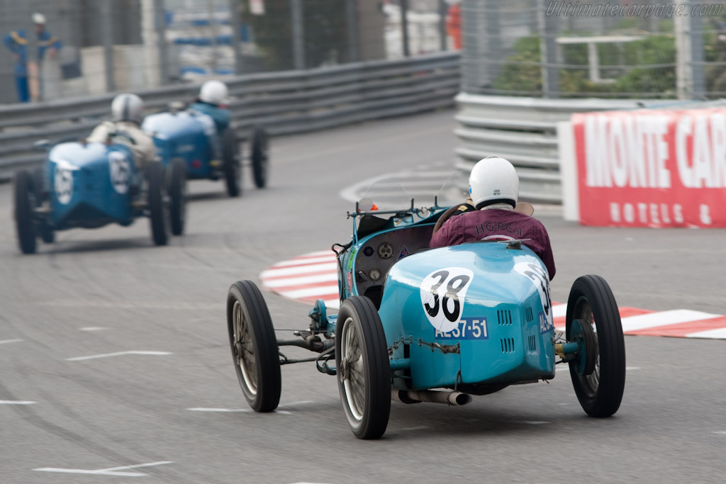 Bugatti Type 37 - Chassis: 37256   - 2010 Monaco Historic Grand Prix