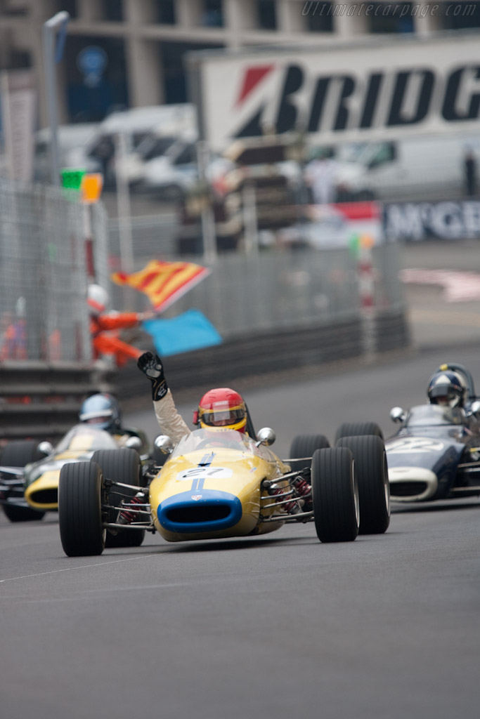 Christian Traber - Brabham BT21    - 2010 Monaco Historic Grand Prix