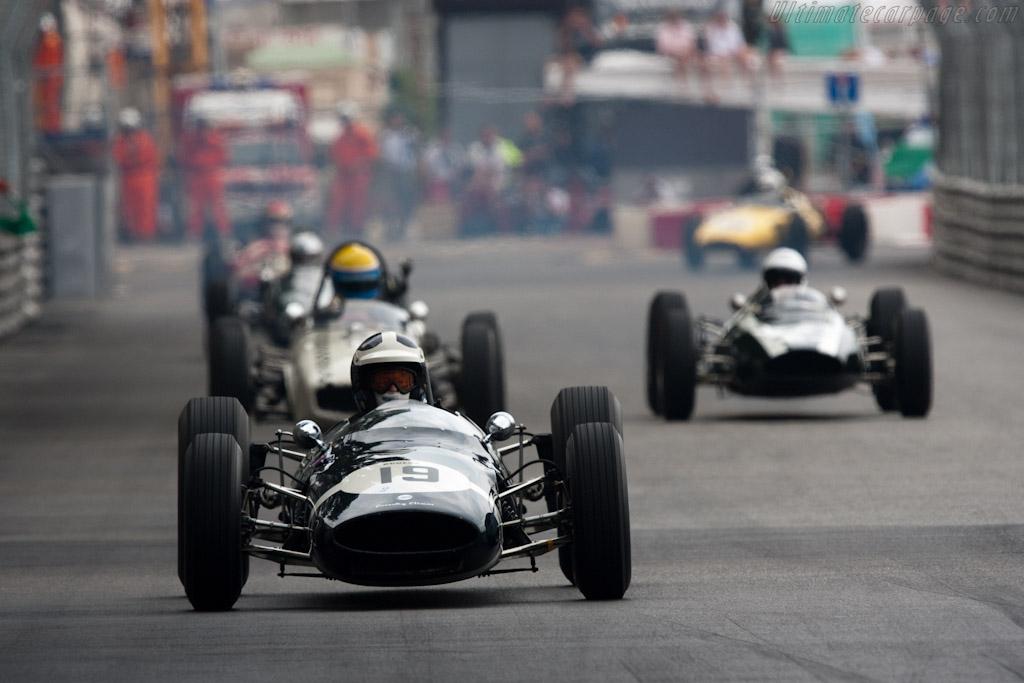 Cooper T66 - Chassis: F1-2-63 - Driver: Sid Hoole  - 2010 Monaco Historic Grand Prix