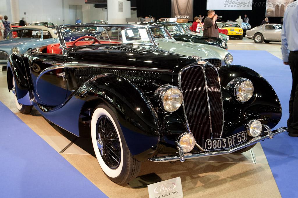 Delahaye 135 MS Competition Cabriolet - Chassis: 49197   - 2010 Monaco Historic Grand Prix