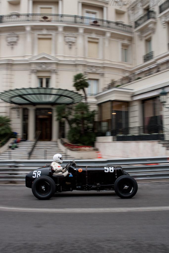 ERA R1B - Chassis: R1B   - 2010 Monaco Historic Grand Prix