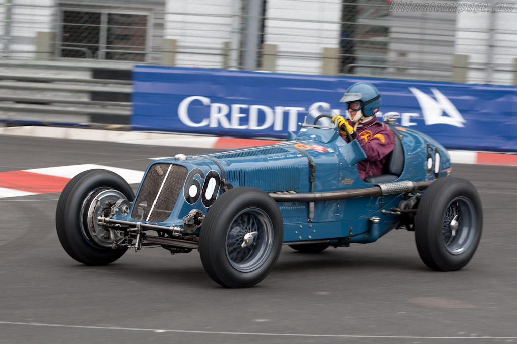 ERA R4A  - Chassis: R4A   - 2010 Monaco Historic Grand Prix
