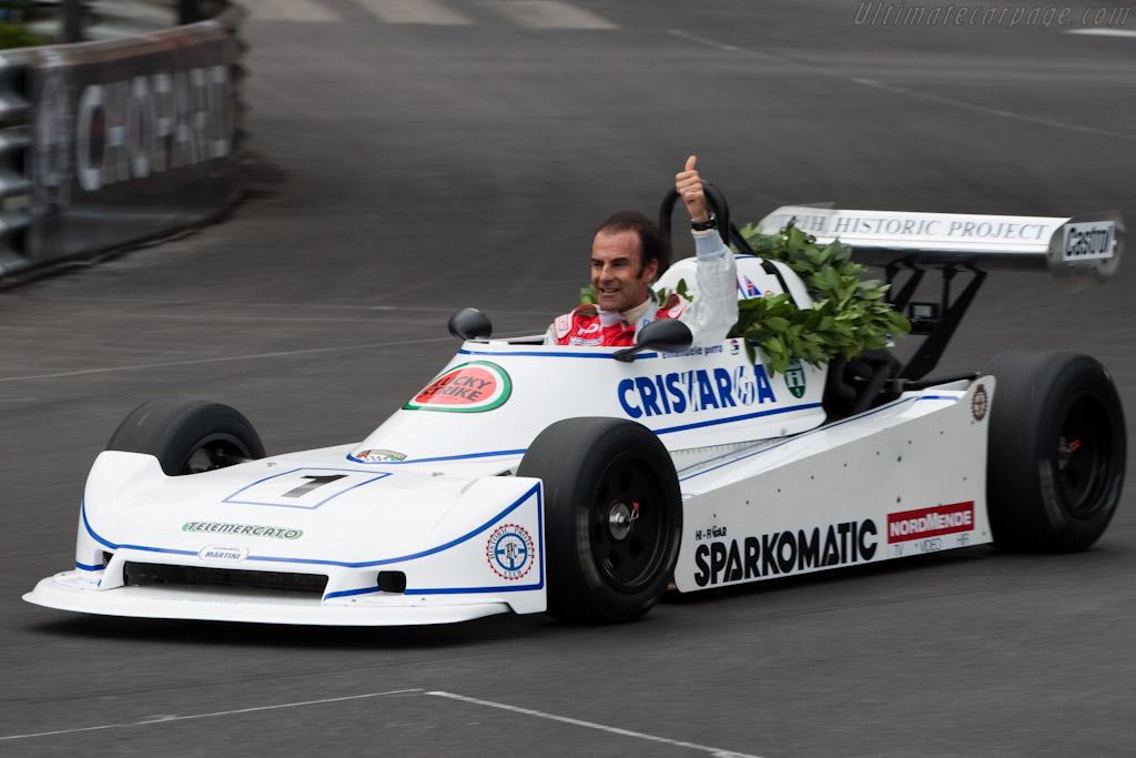 Emanuele Pirro - Martini Mk34    - 2010 Monaco Historic Grand Prix