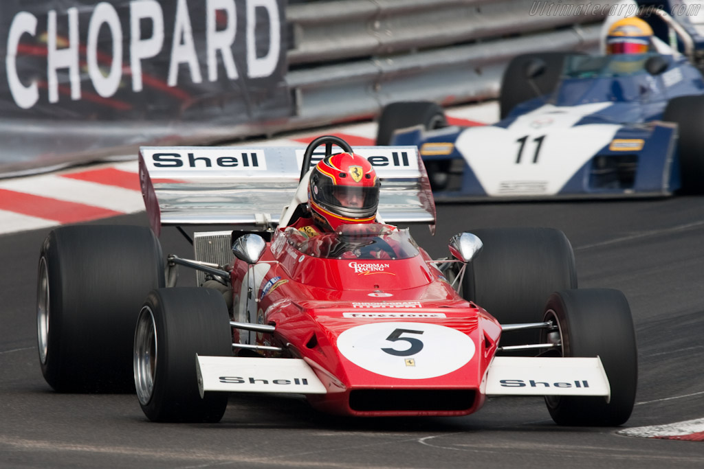 Ferrari 312 B2 - Chassis: 005 - Driver: John Goodman  - 2010 Monaco Historic Grand Prix